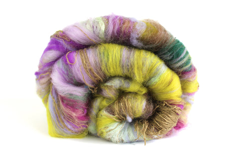 Secret Garden Batt - Spinning Fibre