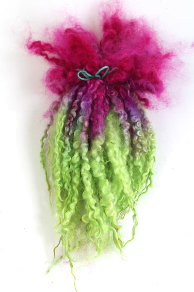 OMG - Hand Painted Leicester Longwool Locks