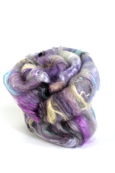 Spinning Art Batt - Ink Blot - Luxury spinning fibres