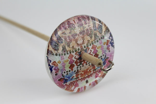 Patterned Drop Spindle