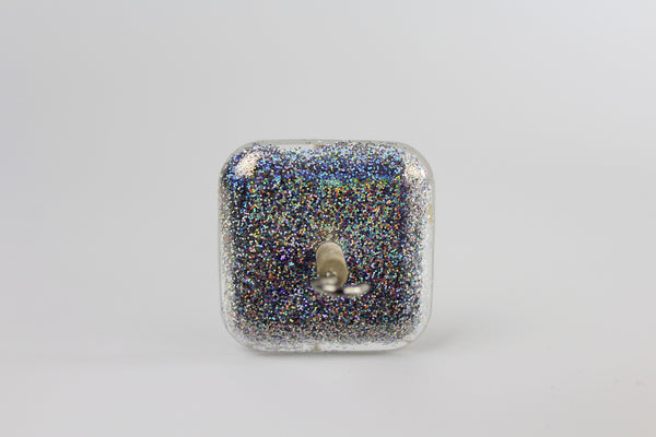 Square Glitter Drop Spindle Blingdle