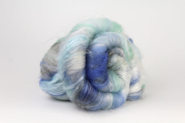 Moonbeam - Hand Carded Batt For Spinning or Felting