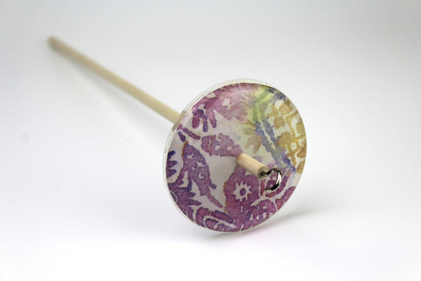 Patterned Glitter Drop Spindle