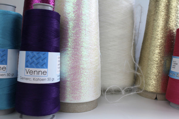 Lurex - Fine yarn on a cone