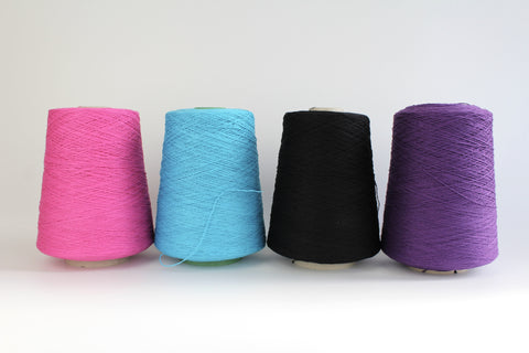 2ply Cotton - Coned Yarn- Plying and warping thread - 400g