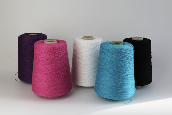 Cotton - Coned Yarn- Plying and warping thread
