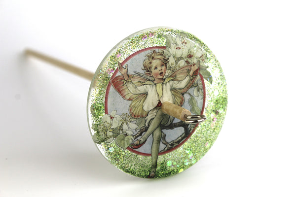Fairy Glittery Drop Spindle #135