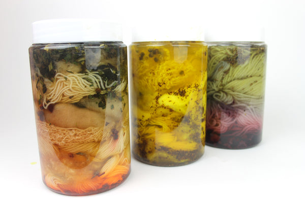 Natural Dye Kit: Fibre