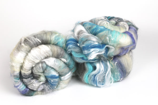 Snow Queen  - Spinning Fibre Batt