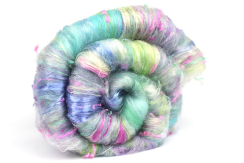 Speckled  - Hand Carded Batt For Spinning Or Felting