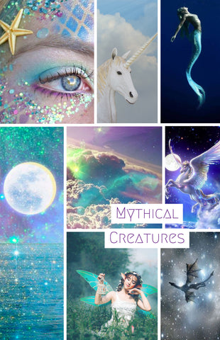 Mythical Creatures Spin-a-long box