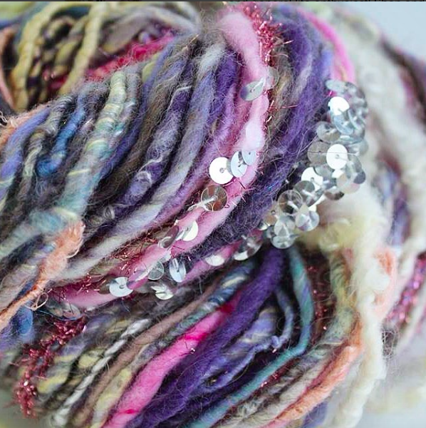 Dreamy Hand Spun Art Yarn
