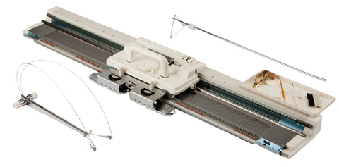 Silver Reed Knitting Machine  - SK280 -  Standard Punch Card Knitting Machine