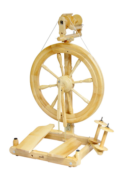 Kromski Sonata Folding Spinning Wheel UK