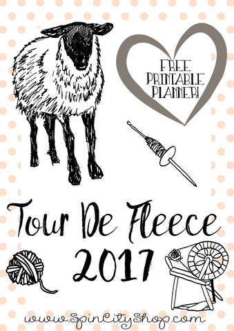 Tour De Fleece Downloadable Planner