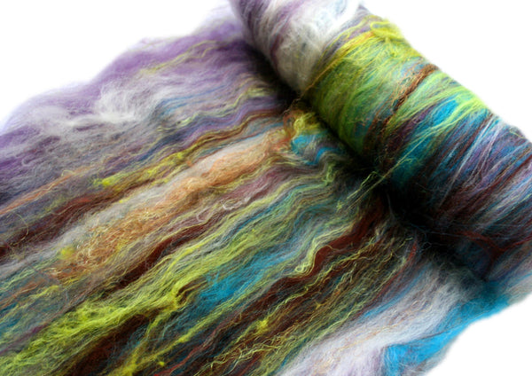 Mermaid spinning batt