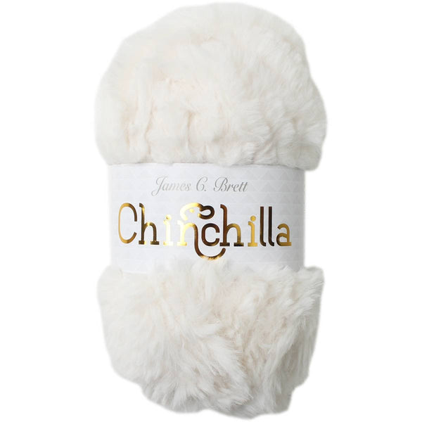 Chinchilla faux fur yarn