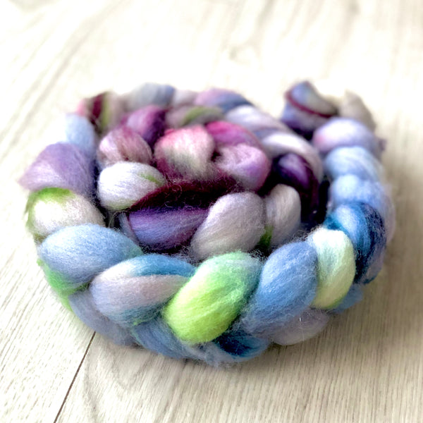 Hand Dyed Blue Faced Leicester