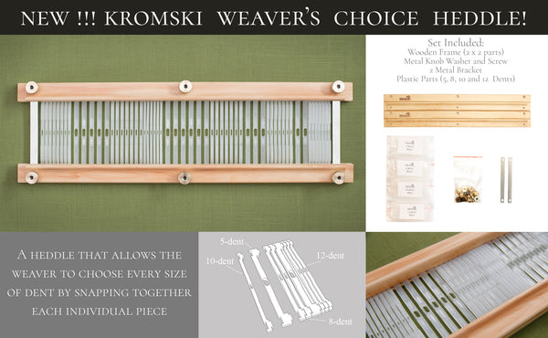 Kromski Weaver's Choice Heddle