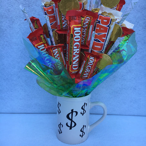 Candy Bar Bouquet