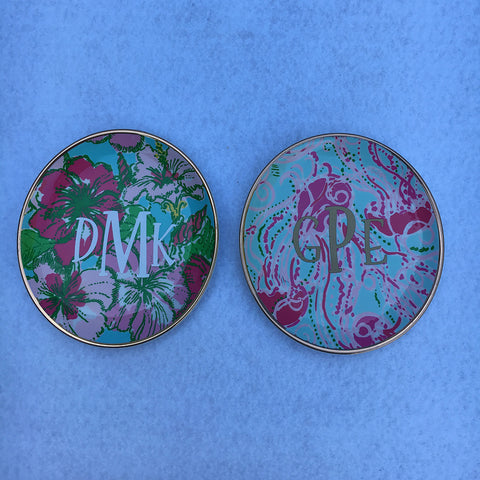 Lilly Jewelry Coaster