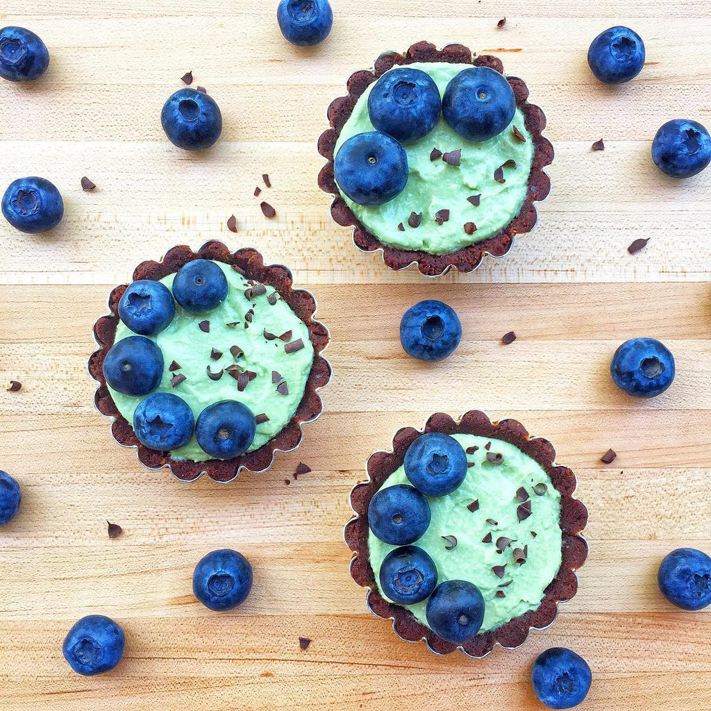 Herbaland Foodie: Mint Chocolate Tart