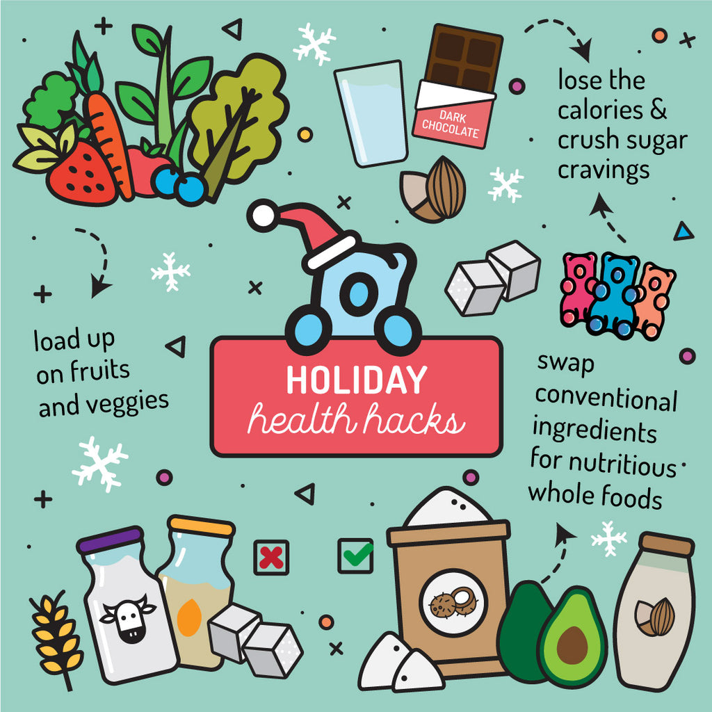 Nutritionist Approved Holiday Health Hacks
