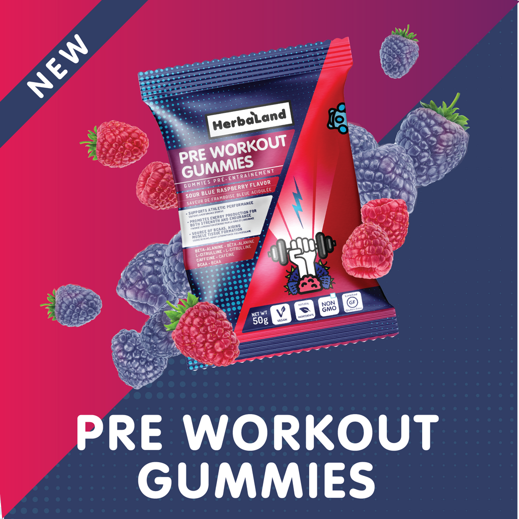 Herbaland NEW Pre-Workout Gummies