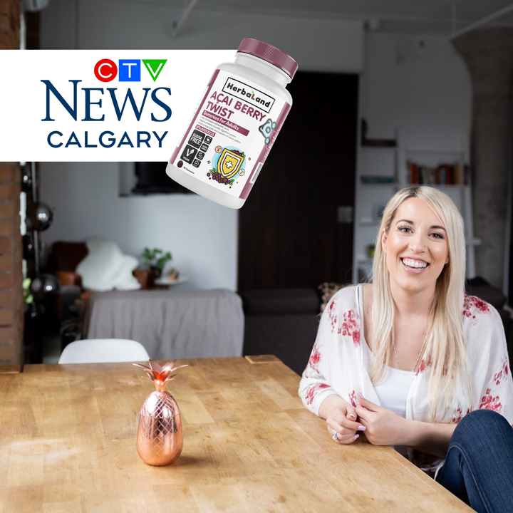 Amber Approved CTV Calgary Herbaland Gummies