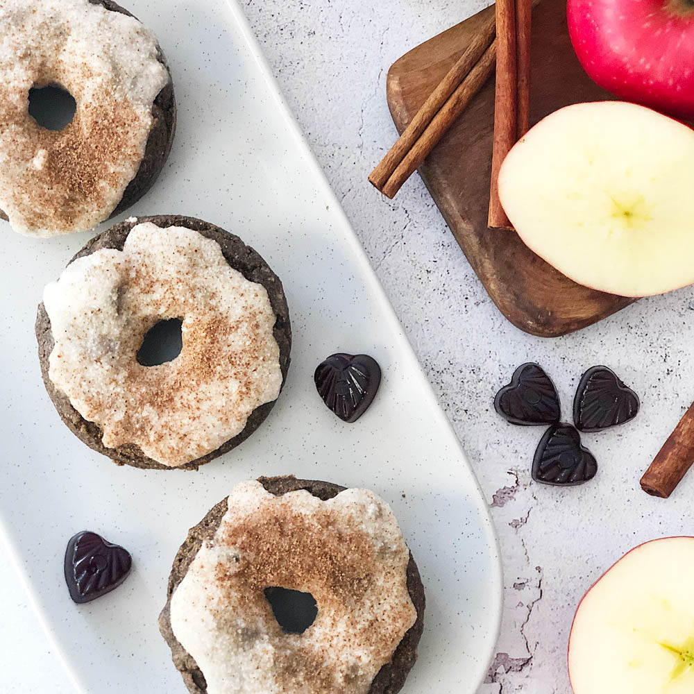 Chai Spiced Apple Cider Donuts, Recipes, Healthy Snacks