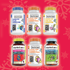 Herbaland Cold & Flu Bundle for Kids and Adults