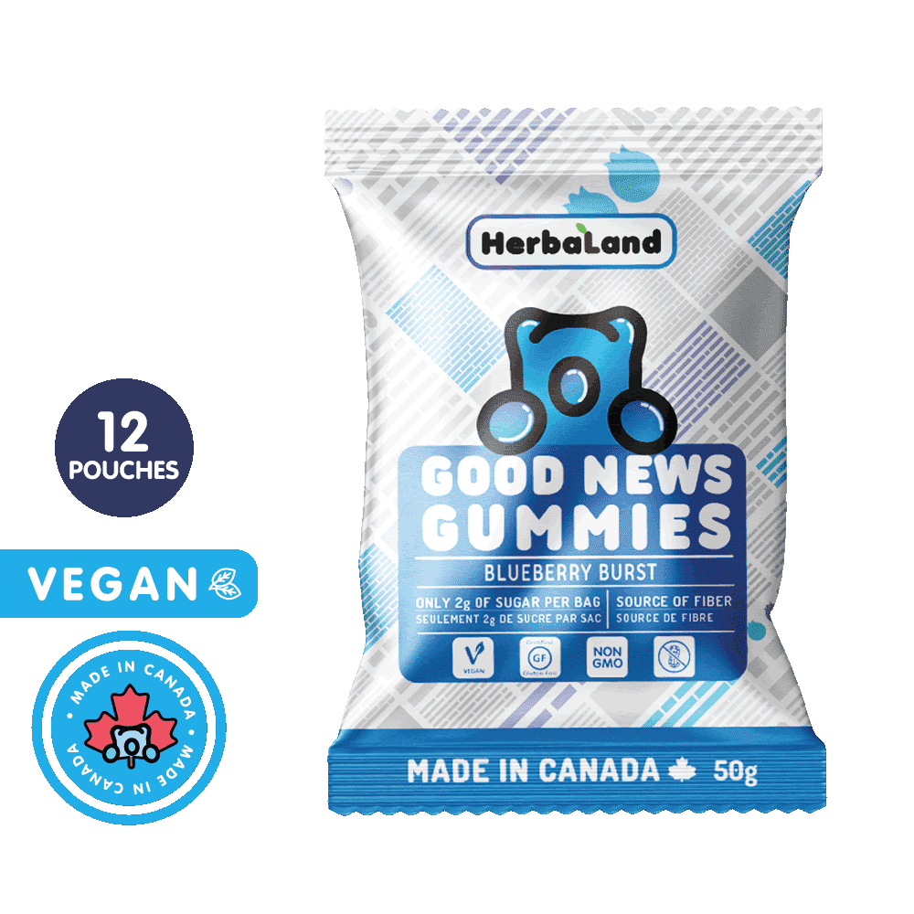Good News Gummies Blueberry | Clean Candy | Case