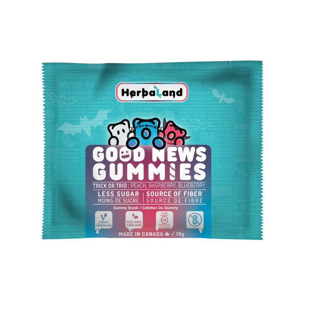 herbaland halloween edition - good news gummies pouch