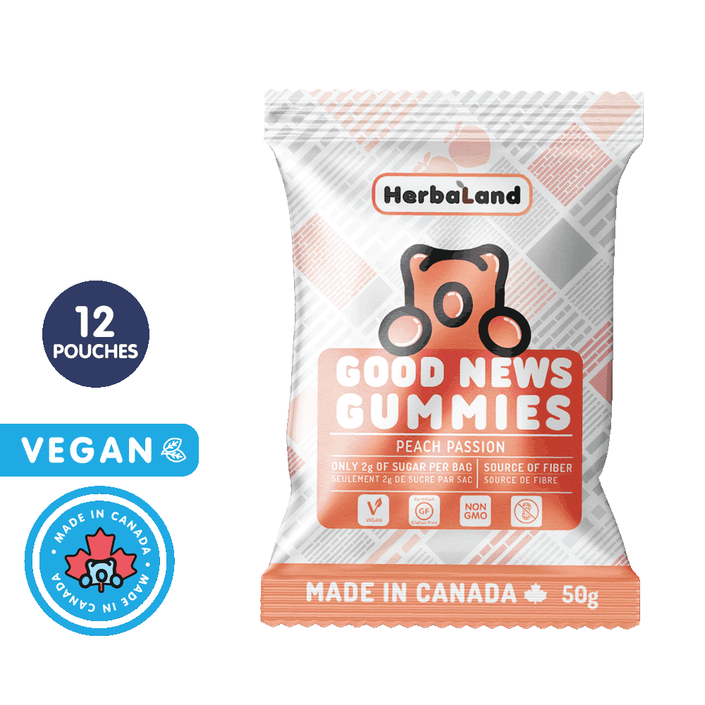 Good News Gummies Peach | Clean Candy | Case
