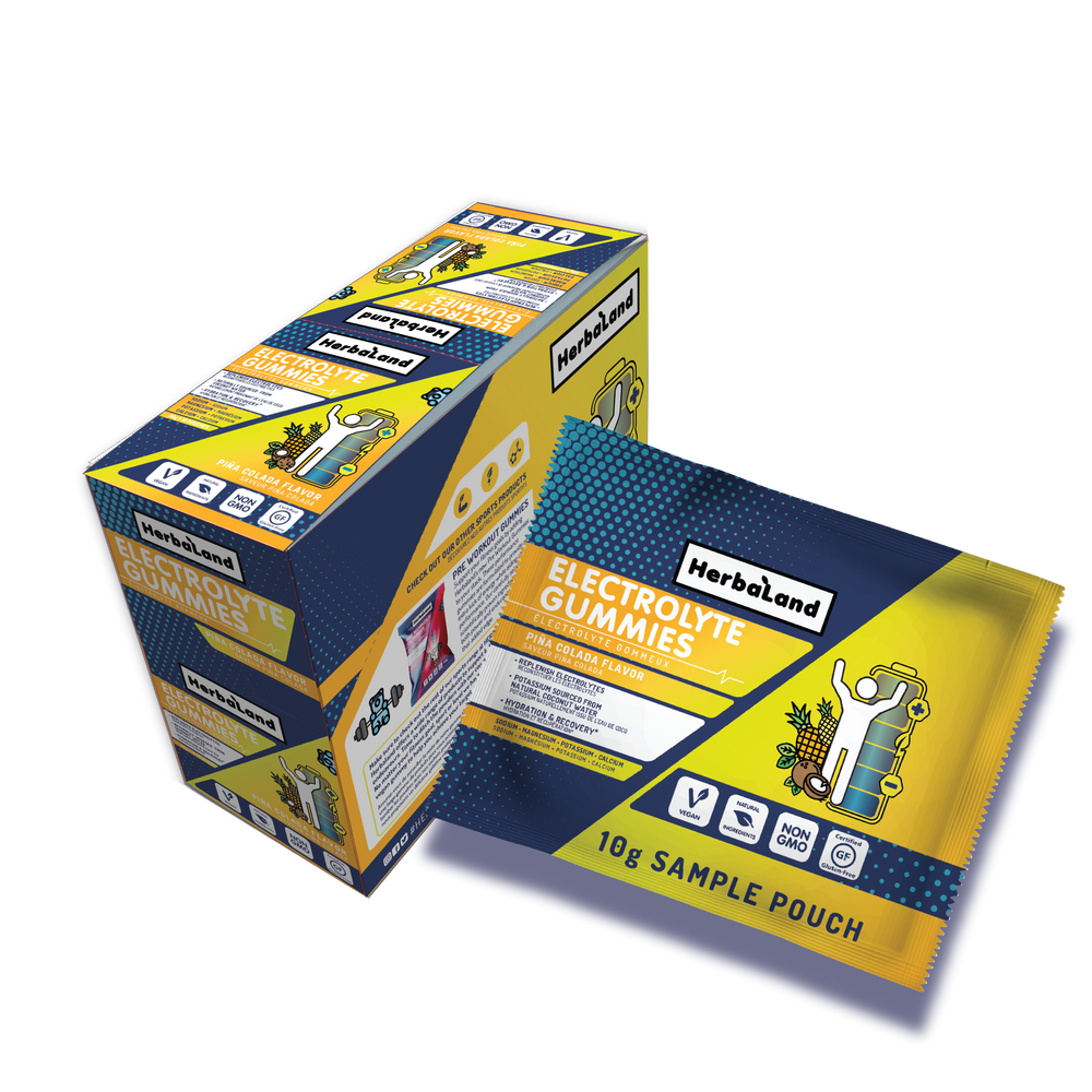 Sport gummies for adults sampling case: Electrolyte Gummies - Herbaland