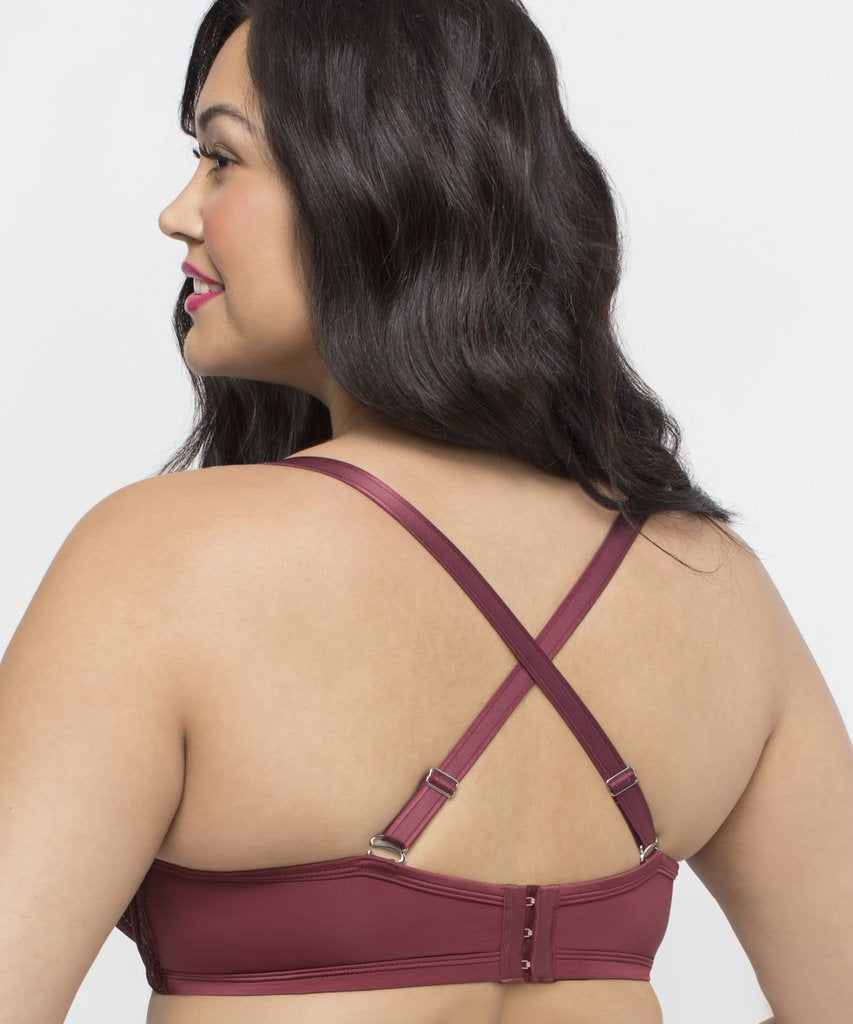 fc31ca420a844 Curvy Couture Tulip Strappy Push Up Bra – A Sophisticated Pair
