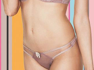 Claudette Dessous Brief - Twilight