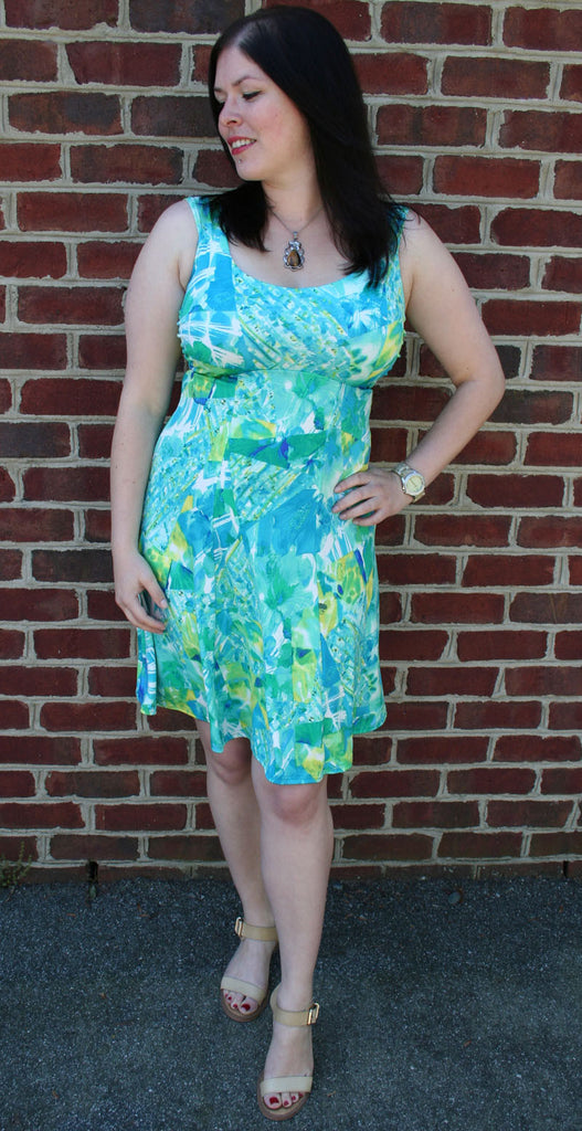 Bolero Sleeveless Skater Dress