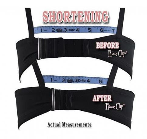 Rixe Clip Bra Bra Band Tightener - Multi Pack