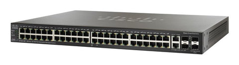 SF300-48 Cisco Switch - 48 FE ports + GB Uplinks. New In Box.