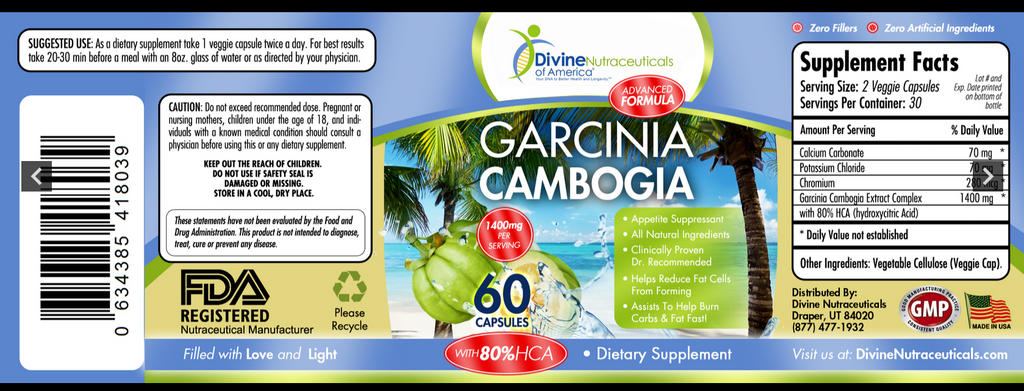 Garcinia Cambogia + Colon Cleanse