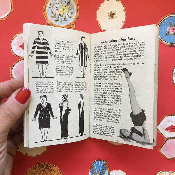 Vintage Lifestyle Advice Book - Lovelier After Forty