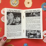 Vintage Lifestyle Advice Book - Successful Parties