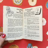 Vintage Lifestyle Advice Book - Your Baby