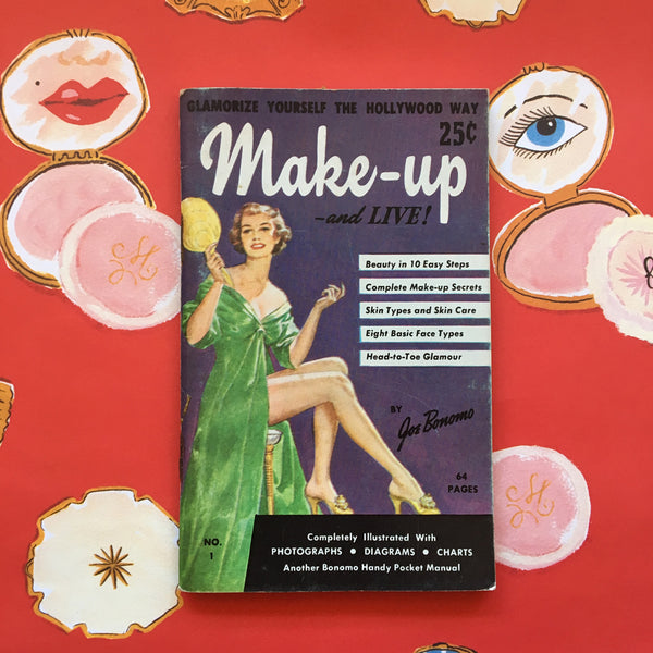 Vintage Lifestyle Advice Book - Make Up