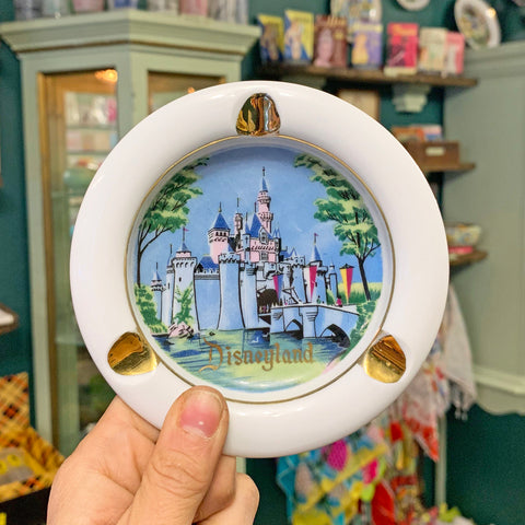 Vintage Disneyland Ashtray