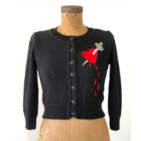 Heart and Dagger Cardigan