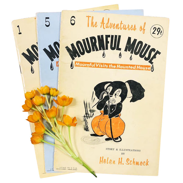 The Adventures of Mournful Mouse - A Vintage Book Series • CLICK FOR MORE OPTIONS