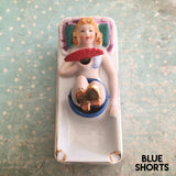 Vintage Flirty Lady Ashtray