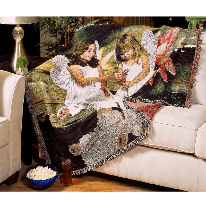 woven photo tapestry custom photo tapestries personalized blanket